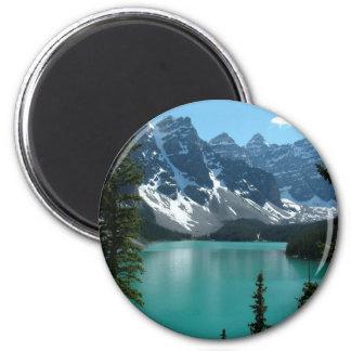 The Rockies - Moraine Lake Magnet
