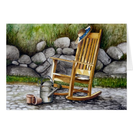 The Rocking Chair Greeting Cards