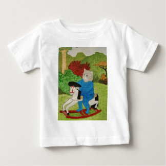 The Rocking Horse Cat Baby T-Shirt