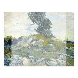The Rocks by Vincent Van Gogh 21.5 Cm X 28 Cm Flyer
