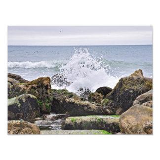 The Rocky Beaches of Montauk, Long Island, NY Art Photo