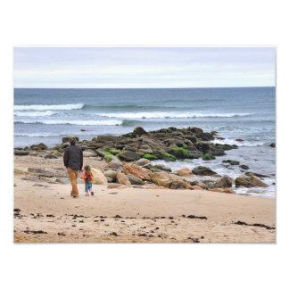 The Rocky Beaches of Montauk, Long Island, NY Photo