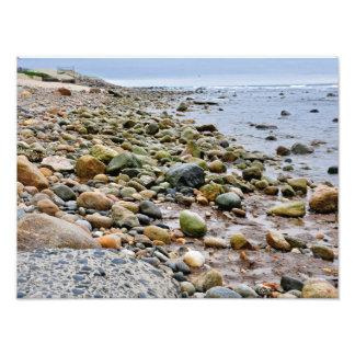 The Rocky Beaches of Montauk, Long Island, NY Photograph