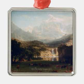 The Rocky Mountains Christmas Ornament