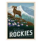 The Rocky Mountains | Colorado Postcard