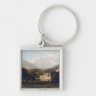 The Rocky Mountains Key Ring