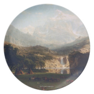 The Rocky Mountains Plate