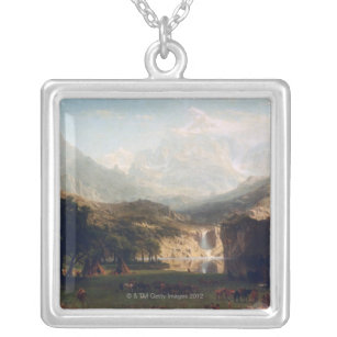 The Rocky Mountains Silver Plated Necklace