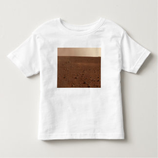 The rocky surface of Mars Toddler T-Shirt