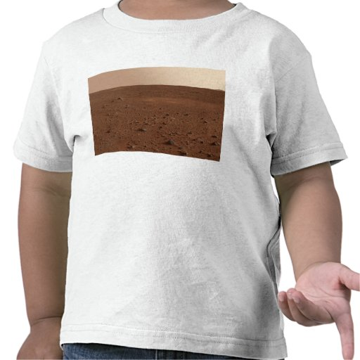The rocky surface of Mars Shirt