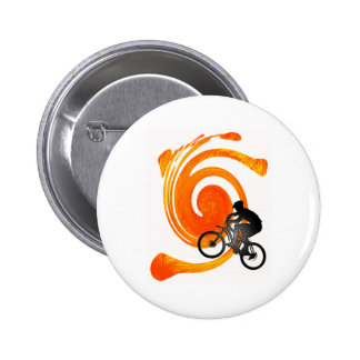 THE ROLLING DAYS 6 CM ROUND BADGE