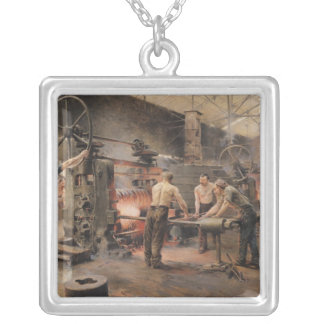 The Rolling Mill Silver Plated Necklace