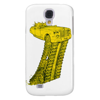The Rolls Royce Brick Phantom - Yellow Pop Art Galaxy S4 Cover