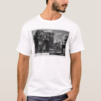 The Roman antiquities, t. 1, Plate XXI. Arch of... T-Shirt