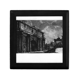 The Roman antiquities, t. 1, Plate XXXI. Arch ... Small Square Gift Box