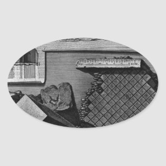 The Roman antiquities, t. 2, Plate LXII. Cutaway v Oval Sticker