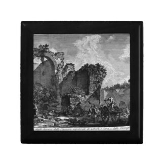 The Roman antiquities, t. 3, Plate XXII Small Square Gift Box