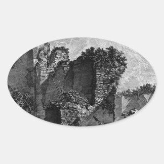 The Roman antiquities, t. 3, Plate XXII Oval Sticker