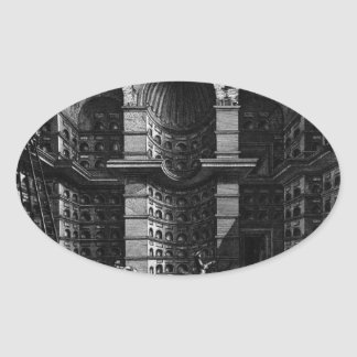 The Roman antiquities, t. 3, Plate XXVI Oval Sticker