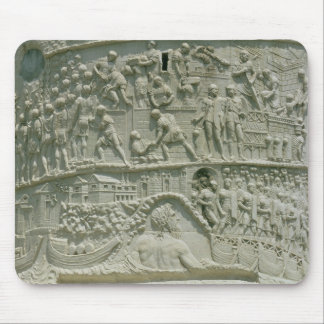 The Roman army crossing the Danube Mouse Mat