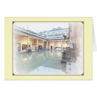 The Roman Baths Card