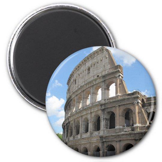 The Roman Colosseum 6 Cm Round Magnet
