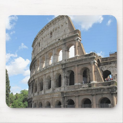 The Roman Colosseum Mouse Pad
