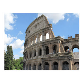 The Roman Colosseum Postcard