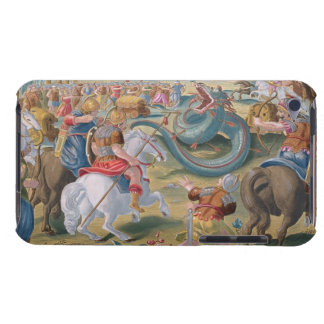 The Roman Consul Atilius Subdues the African Serpe iPod Touch Cover
