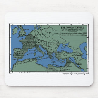 The Roman Empire At Its Greatest Extent Mouse Mat