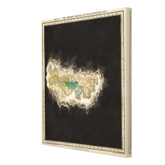 The Roman Empire In The Augustan Age 1 AD Gallery Wrap Canvas