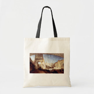 The Roman Forum For Mr. Soane'S Museum By Turner Canvas Bag