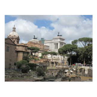 The Roman Forum - Latin: Forum Romanum Post Card