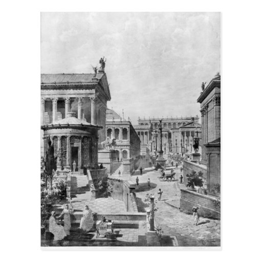 The Roman Forum of Antiquity, 1914 Post Cards