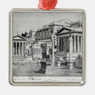 The Roman Forum of Antiquity Christmas Ornament