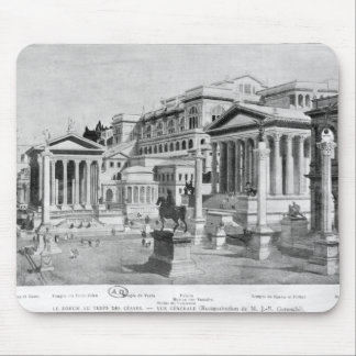 The Roman Forum of Antiquity Mouse Mat