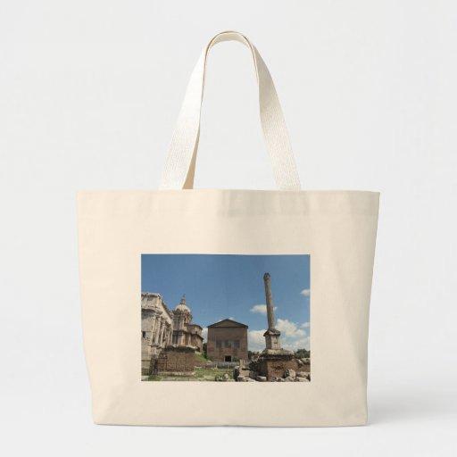 The Roman Forum · Photo, exterior Canvas Bags
