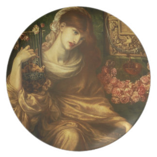 The Roman Widow, 1874 (oil on canvas) Party Plates