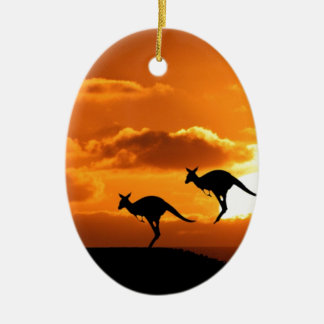 THE ROO RUNNERS. CHRISTMAS ORNAMENT
