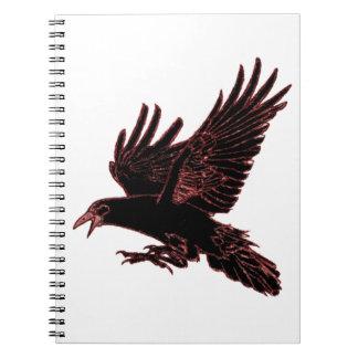 The Rook Spiral Notebook