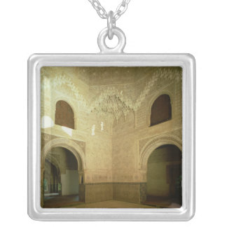 The Room of the Two Sisters  14th century Silver Plated Necklace
