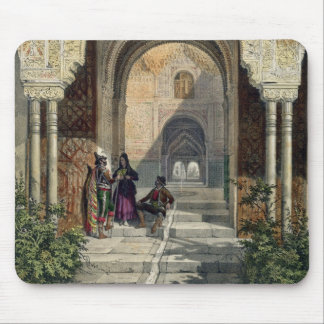 The Room of the Two Sisters in the Alhambra, Grana Mouse Mat