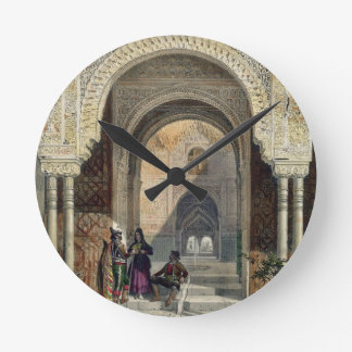 The Room of the Two Sisters in the Alhambra, Grana Wall Clocks