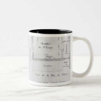 The Rooms of Madame Recamier Two-Tone Coffee Mug