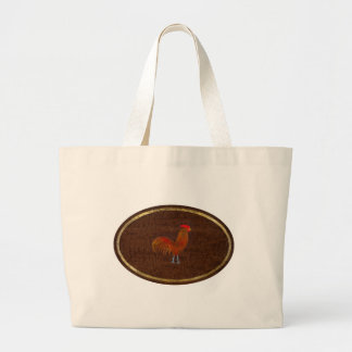 The Rooster 2009 Large Tote Bag