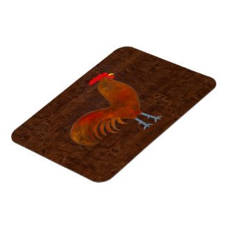 The Rooster 2009 Rectangular Photo Magnet