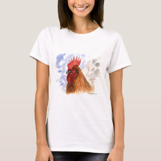 The Rooster design by Schukina A087 T-Shirt