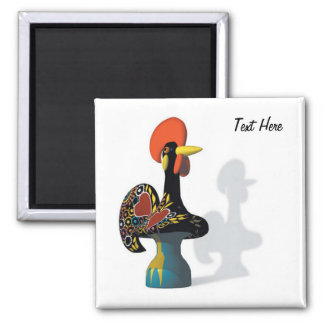 The rooster of Barcelos Magnet customizable