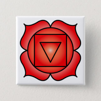 The Root Chakra 15 Cm Square Badge