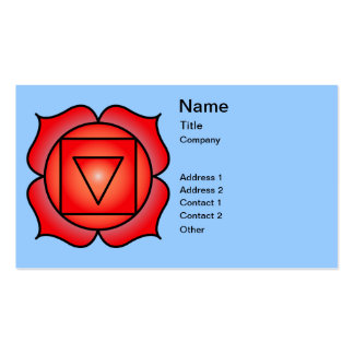 The Root Chakra Business Card Templates